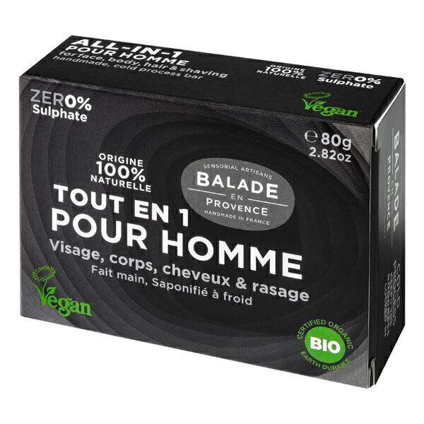 Balade en Provence - Savon tout en un pour homme 80g