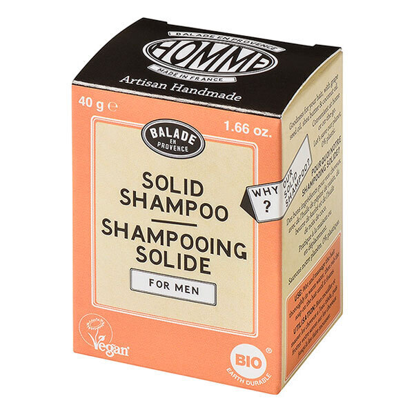 Balade en Provence - Shampoing solide pour homme Agrumes 40g