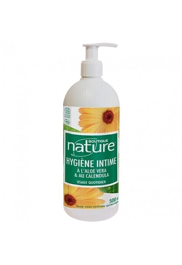 Boutique Nature - Gel intime bio a l'aloe vera - 500 ml