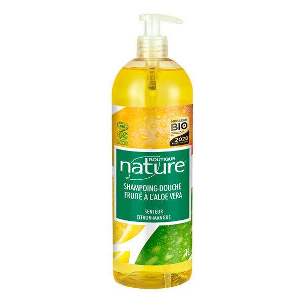 Boutique Nature - Shampoing-douche fruité 1L