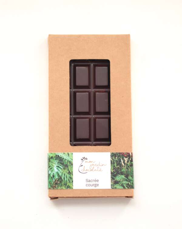 Mon Jardin Chocolaté - Ma tablette bio Sacree Courge