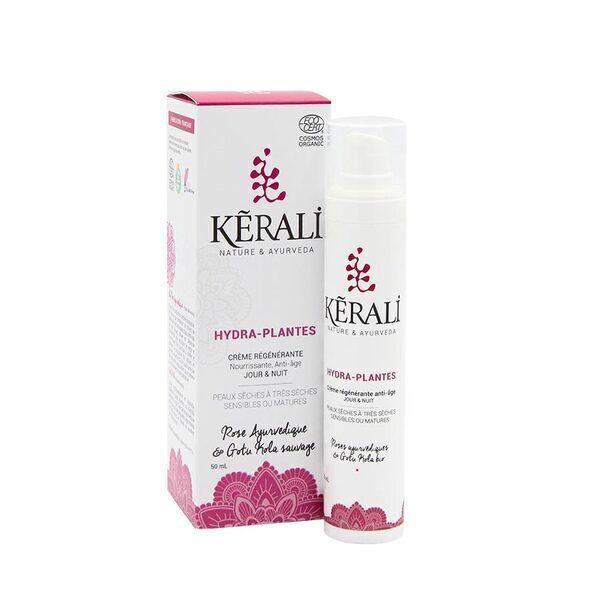 Kerali - Creme HYDRA-PLANTES Creme Anti-age peaux Seches
