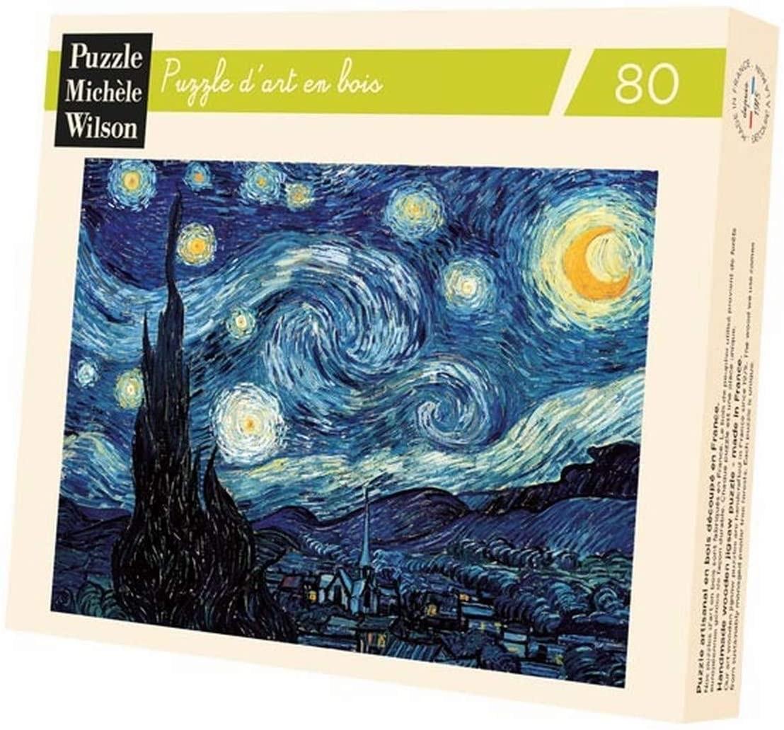 Michèle Wilson - Puzzles Michèle Wilson - Nuit étoilée Van Gogh 80 pièces