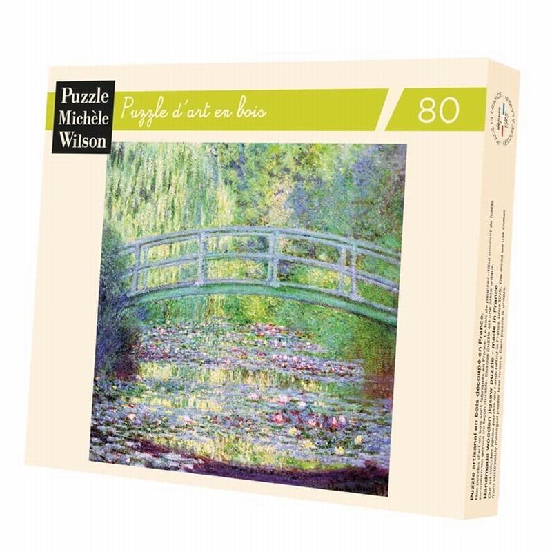 Michèle Wilson - Puzzle Michèle Wilson - Le Pont Japonais 80 Pièces