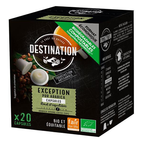 Destination - Exception pur arabica Capsules x20