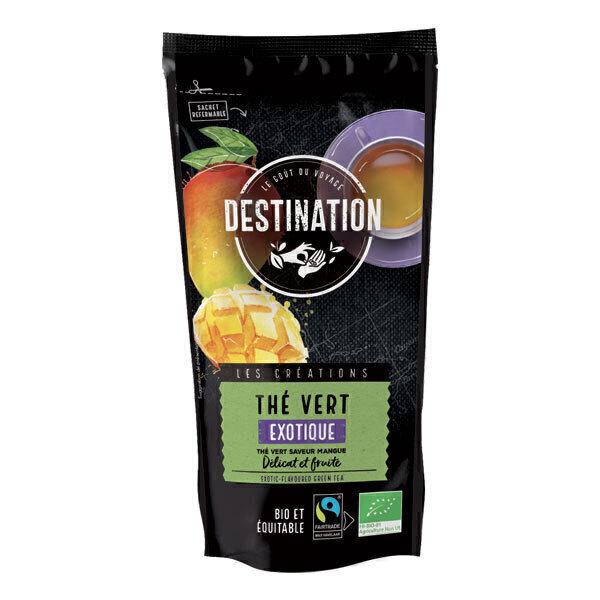 Destination - Thé vert exotique 80g
