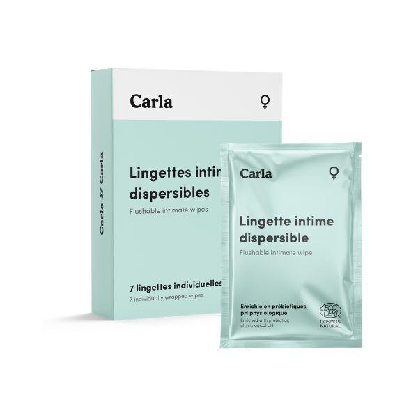 L'Essuie-Fraise - L'Essuie-Abricot - 7 lingettes intimes individuelles pour femme
