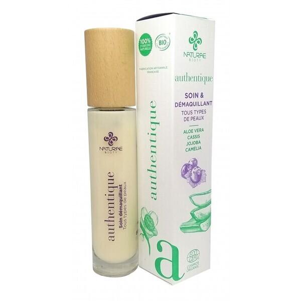 Naturae Bioty - Soin et démaquillant AUTHENTIQUE- Tous types de peaux-50 ml