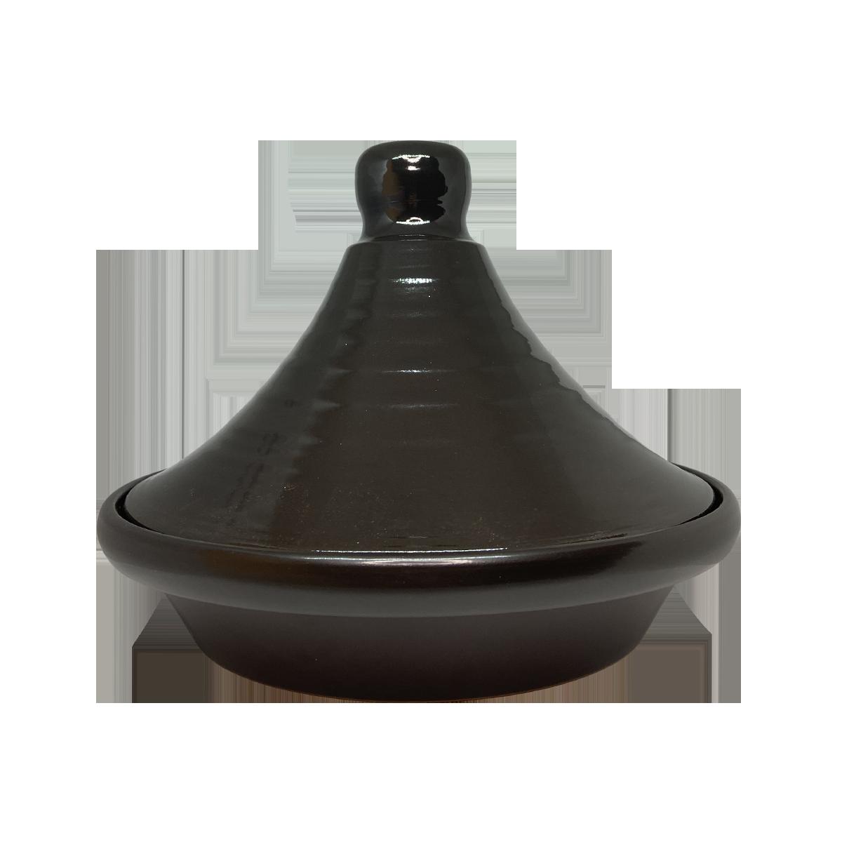Esprit Cuistot - Tajine Noir en ceramique 32 cm