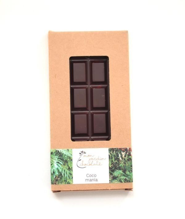 Mon Jardin Chocolaté - Ma tablette bio Coco Mania