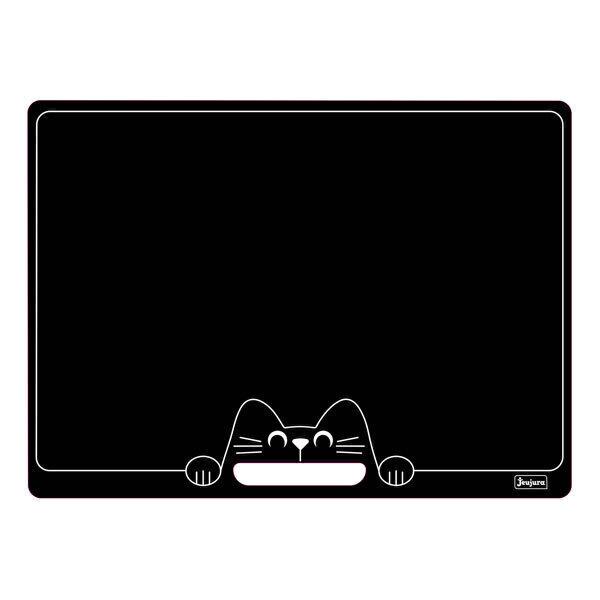 Jeujura - Ardoise réversible chat, 41 x 30 cm - Dès 3 ans