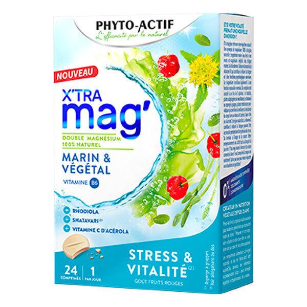 Phyto-Actif - X'tra mag stress et vitalité 24 comprimés