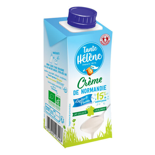 Tante Hélène - Crème légère 15%MG 20cl