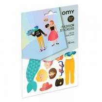 OMY - Gommettes repositionnables - Fashion - Omy design