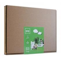 GIGI - GIGI - 30 briques en carton M - Blanc