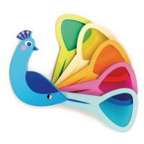 TENDER LEAF TOYS - Jeux de couleurs Paon