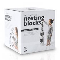 WEE GALLERY - Cubes Compter et Empiler Forêt - set de 10