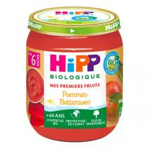 HiPP - Pommes betteraves dès 6 mois - 125g