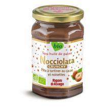 Nocciolata - Pâte à tartiner Nocciolata Crunchy 270g