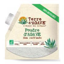 Terre d'Agave - Poudre d'agave non raffinée 200g