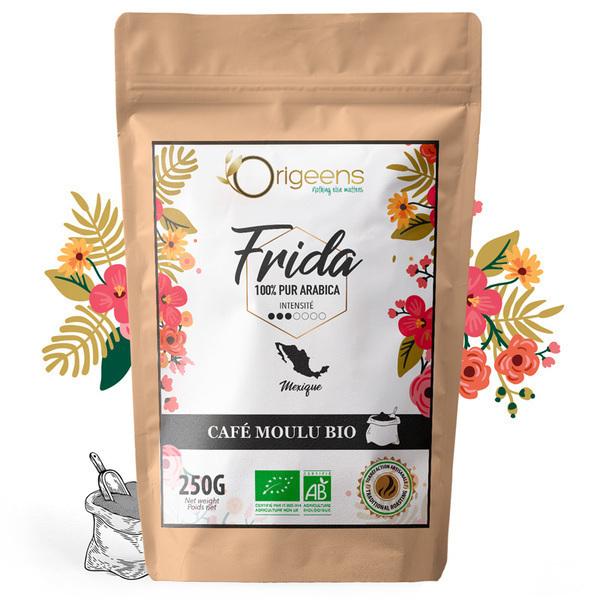 Origeens - Frida - 3/7 - Mexique - Cafe moulu 250g