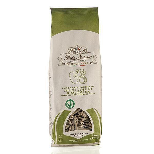Saveurs de Tosca - Pâtes BIO multi-légumineuses Pasta Natura - Caserecce - 250 gr N