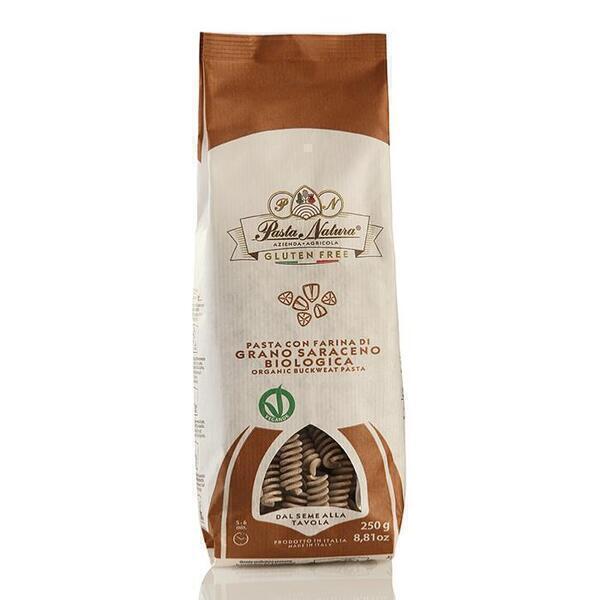 Saveurs de Tosca - Pâtes BIO de sarrasin Pasta Natura - Fusilli - 250 gr Aliments s