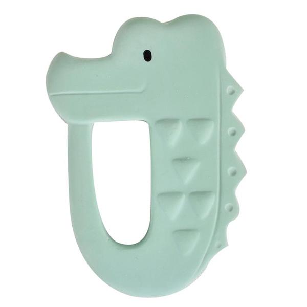 Tikiri - Anneau de dentition crocodile en caoutchouc naturel