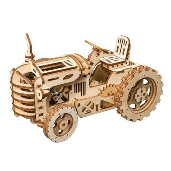 Robotime - Maquette 3D - Tracteur mécanique