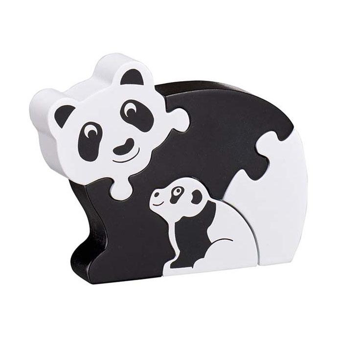 LANKA KADE - Puzzle en bois Panda et son bébé