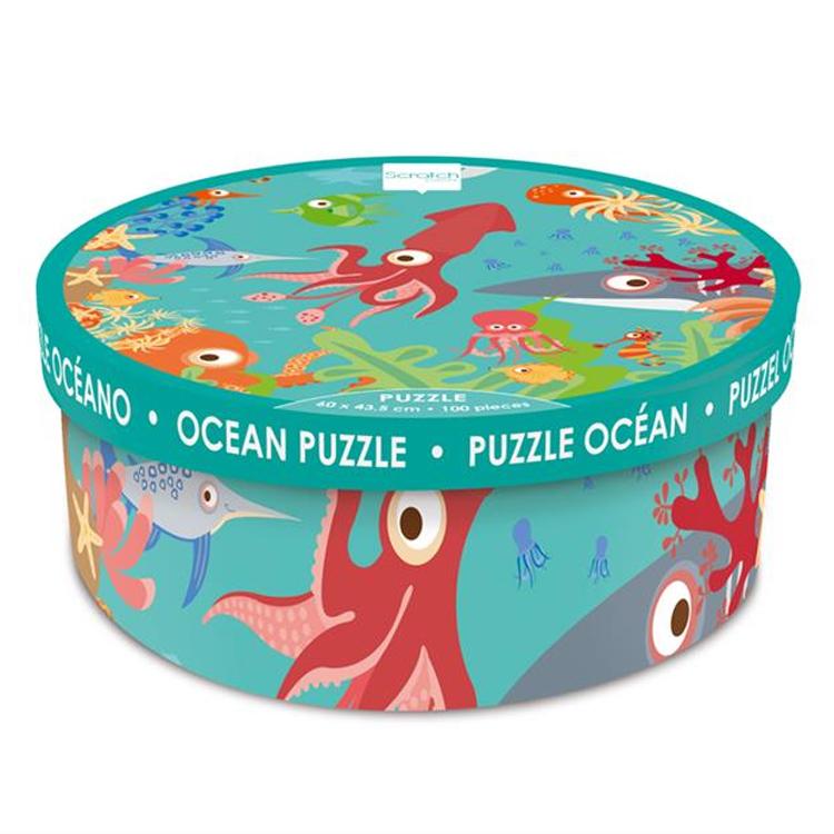 Scratch - Puzzle Océan 100 pièces