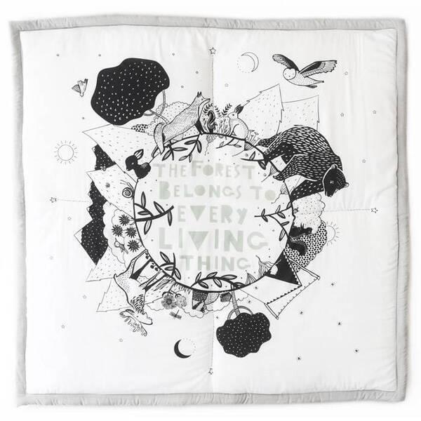 WEE GALLERY - Tapis d'éveil Forêt - Wee Gallery