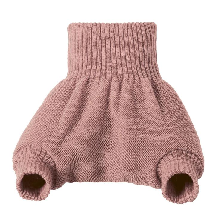 DISANA - Culotte de protection rose en laine Mérinos 12-24 mois