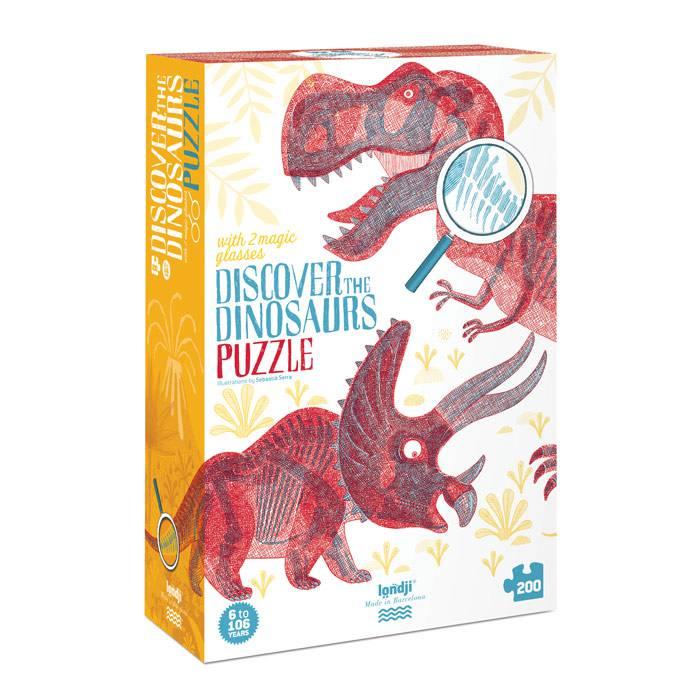 Londji - Puzzle Découvrir les dinosaures