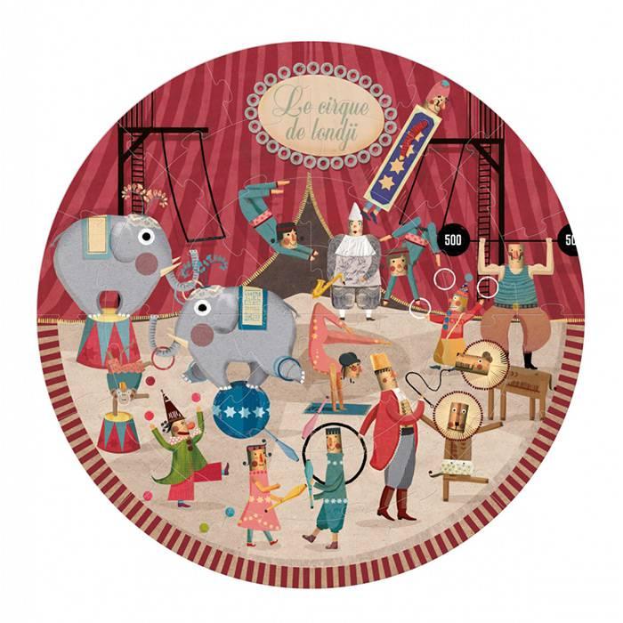 Londji - Puzzle rond Circus 36 pièces