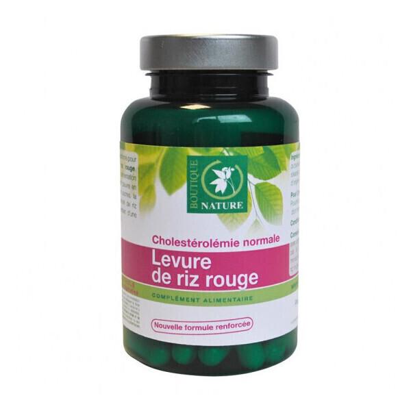 Boutique Nature - Levure de riz rouge Bio- 60 gélules végétales de 333 mg