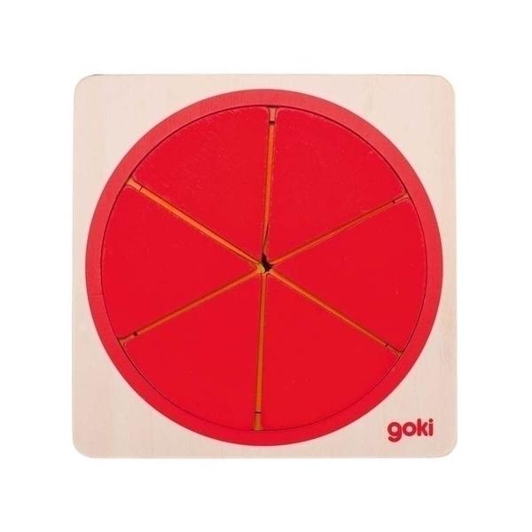 Goki - Fractions de cercle en bois