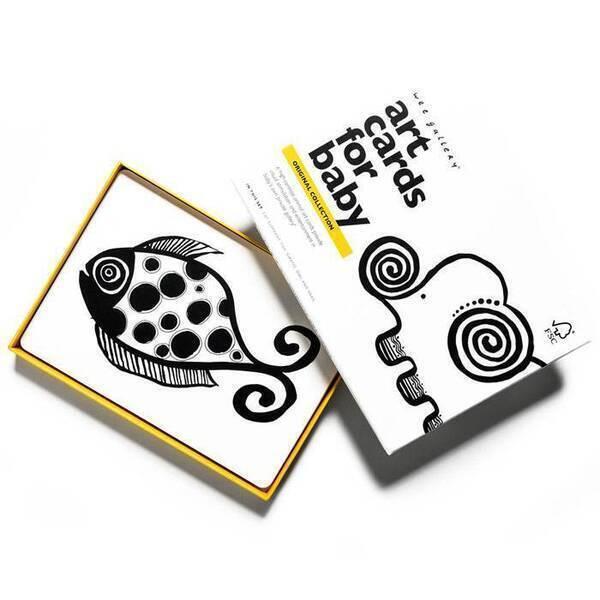 WEE GALLERY - Cartes imagier animaux - Original