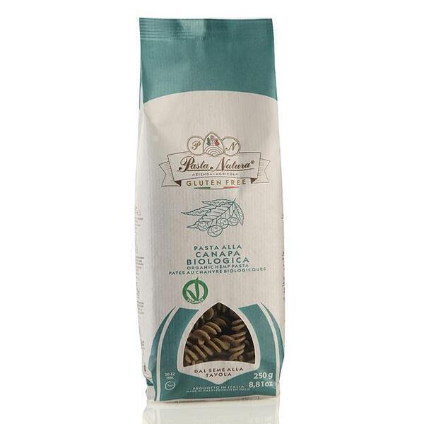 Saveurs de Tosca - Pâtes BIO au chanvre Pasta Natura - Fusilli - 250 gr Nature sans