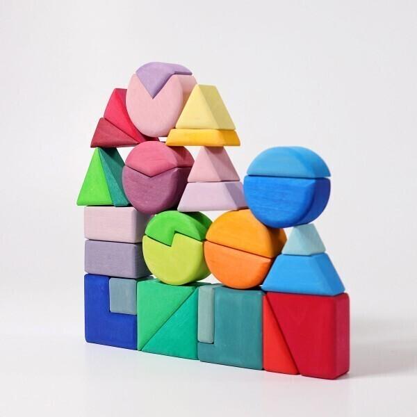 GRIMM'S - Set de 30 blocs de construction