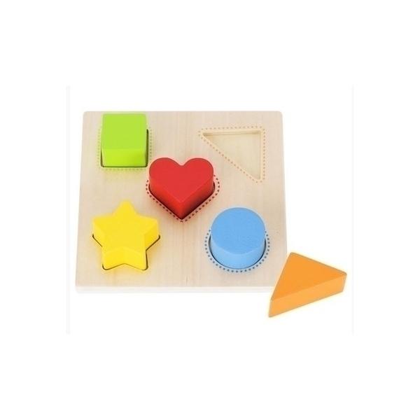 Goki - Encastrement formes et couleurs