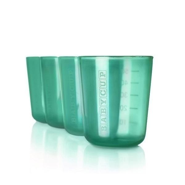 BABYCUP - Premières tasses - Lot de 4 - Vert