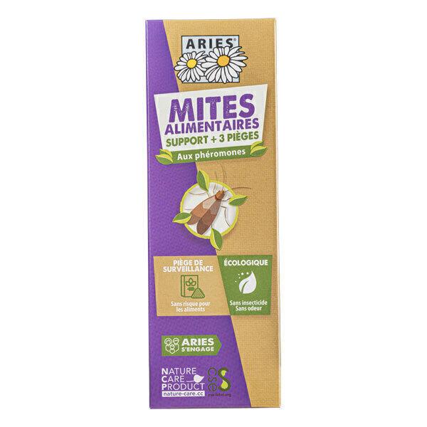Aries - Pièges de surveillance à mites alimentaires rechargeables x3