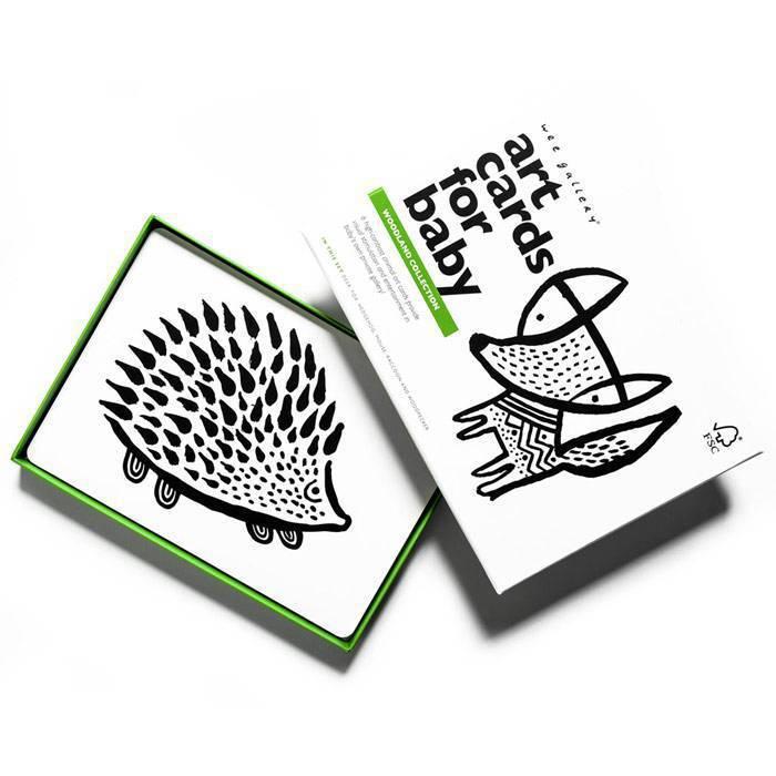 WEE GALLERY - Cartes imagier animaux - Animaux de la Forêt