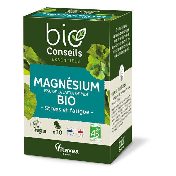 Bio Conseils - Magnésium végétal 30 comprimés