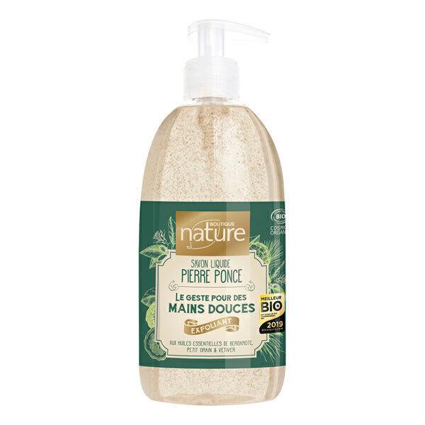 Boutique Nature - Savon liquide exfoliant Pierre ponce 500ml