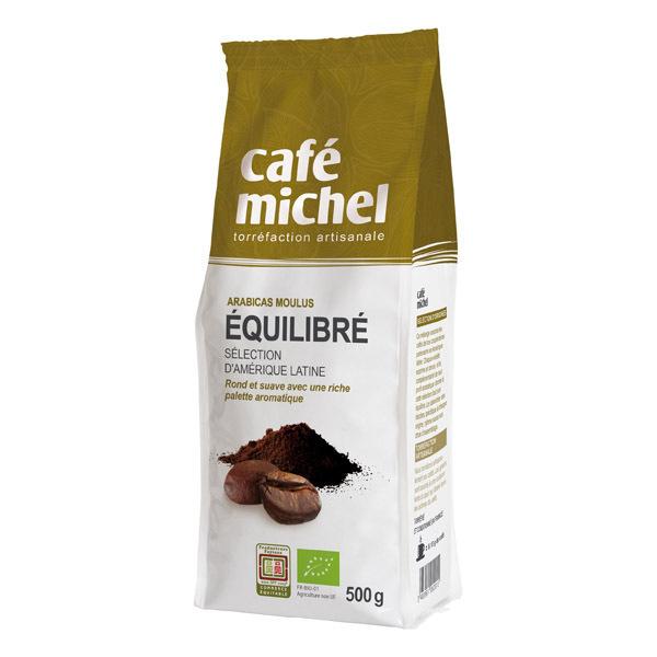 Café Michel - Café moulu équilibré pur arabica 500g