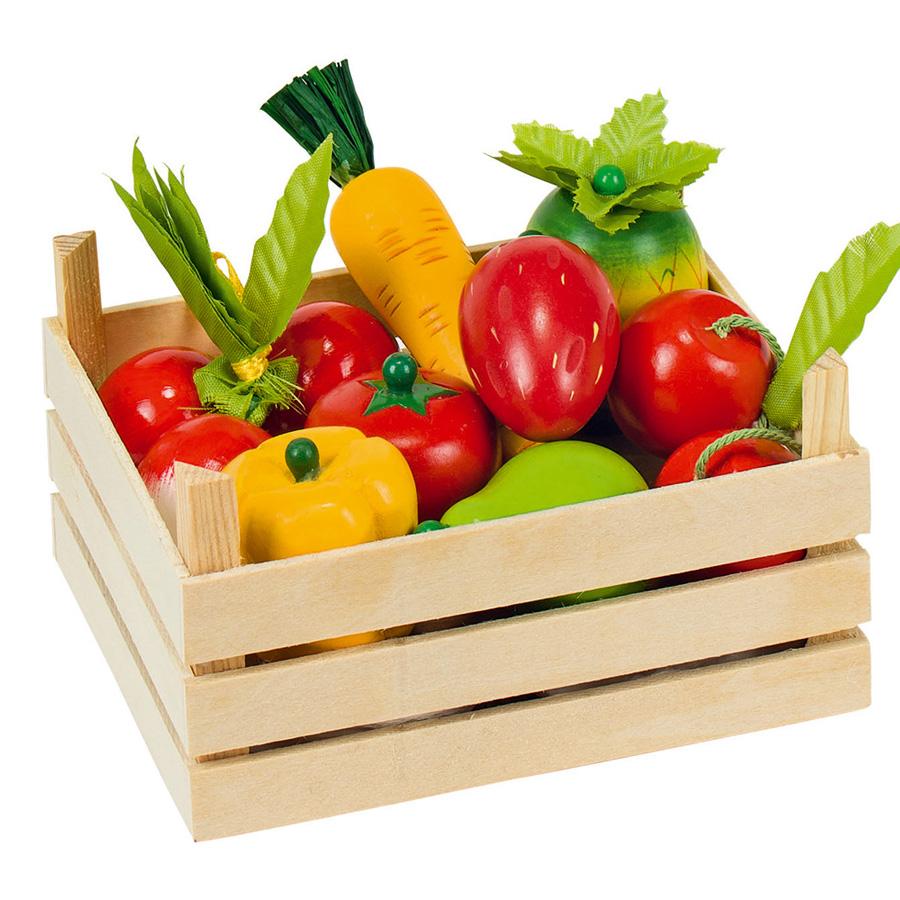Goki - Cagette de fruits et légumes en bois