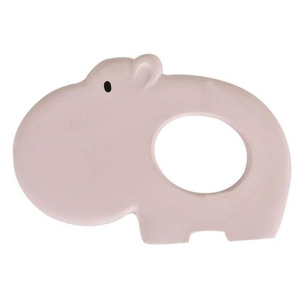 Tikiri - Anneau de dentition hippopotame en caoutchouc naturel