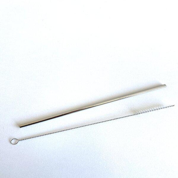 Healthy mini box - Paille en inox + Goupillon de nettoyage réutilisable